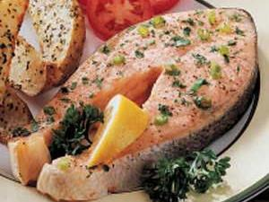 Special Salmon Steaks