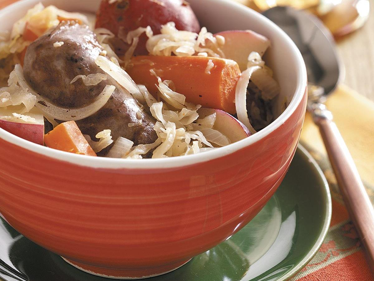 Sausage Sauerkraut Supper