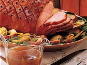 Ham with Maple Gravy