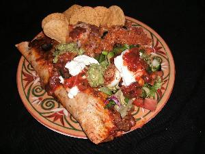 Enchiritos (baked burritos) Recipe