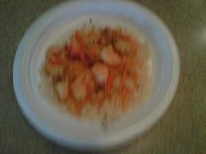 Shrimp & Gravy over Rice Recipe
