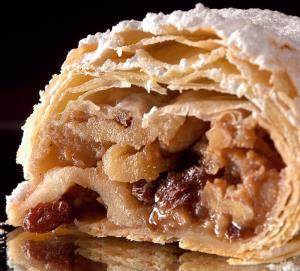 Apple Strudel (made with phyllo dough) Recipe