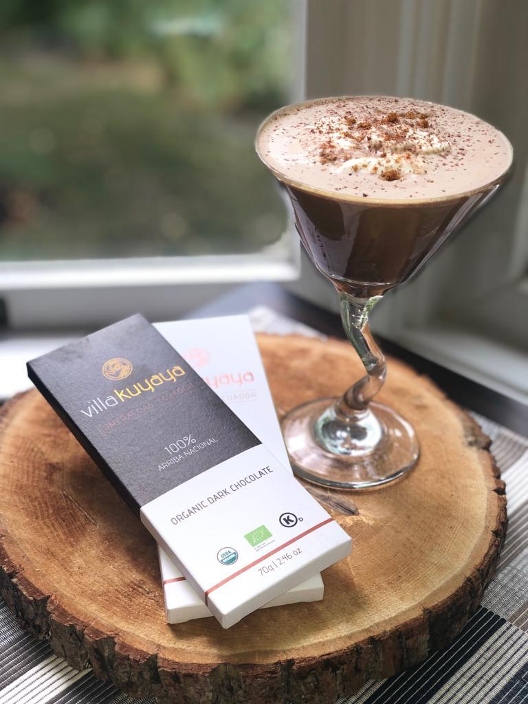 Kuyaya Chai Martini Recipe